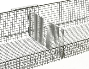 qwikSIGHT Basket Dividers, front to back