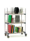 MetroMax 4 Three Tier Tray Drying Rack