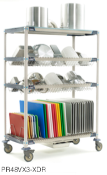 MetroMax i Four Tier Bulk Drying and Tray Rack