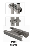Seismic Post Clamps