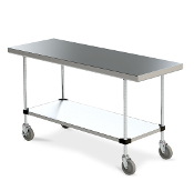 Metro Space Saver Work Tables - 316 Series Mobile
